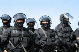 """Атырау. Полиция и солдаты заблокировали микрорайон """"Болашак"""" Photo userapi.com"""