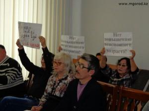 Новости Уральск - Уральские коммунисты протестуют молча kommunisti