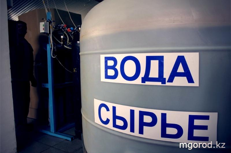 """Уральск. """"Мой ГОРОД"""" побывал на производстве воды """"Кристальная"""" 1"""