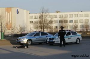 Уральск. Полицейский насмерть сбил пешехода MG-1