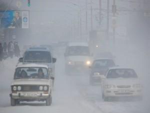 Актобе. Сильный буран закрывает дороги области altaynews.kz