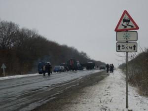 На трассе Уральск-Саратов произошло лобовое столкновение blogspot.com