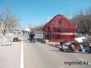 Новости Атырау - В Атырау на Наурыз возведут более 70 юрт mgorod.kz-atyrau-nauryz2