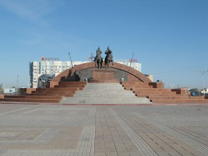 Уральск согласен дружить с Атырау wikimedia.org