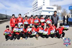 Новости Актобе - Актобе. Молодые футболисты вернулись из Тараза с победой 4234
