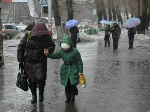 В ЗКО объявлено штормовое предупреждение altaynews.kz