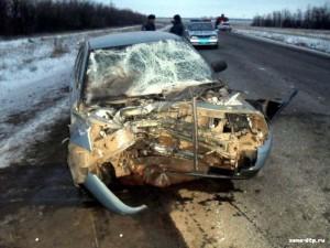 Новости Атырау - На трассе «Атырау-Доссор» произошла страшная авария avaria_www.zona-dtp.ru