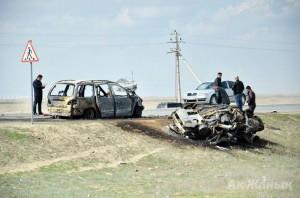 Подробности жуткой аварии на трассе Атырау-Уральск crash_www.azh.kz