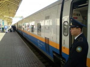 Из Атырау до Алматы будет ходить скоростной поезд  Фото с сайта wikimedia.org