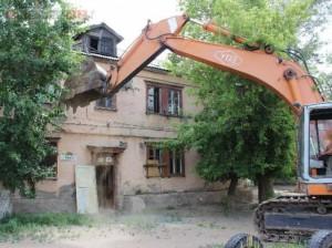 В Павлодаре сносят целый микрорайон 11