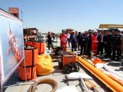 Новости - В Атырауской области проходят учения по реагированию на аварийные разливы нефти 1