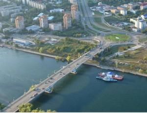Министерство регионального развития предлагает изменить русло Иртыша и направить реку вглубь страны ФОТО : Андрей Вологодский