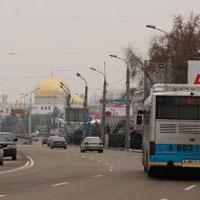 Проезд по некоторым улицам Астаны и Алматы может стать платным 12