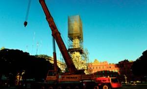 Президент Аргентины поспорил с мэром Буэнос-Айреса из-за памятника Колумбу 14