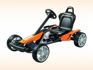 Porsche разработала педальный автомобиль для детей фото с сайта motor.ru