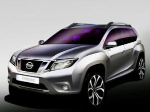Nissan показал первое изображение нового Terrano 14