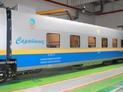 В Казахстане по маршруту Алматы - Атырау запускают новый скоростной поезд «Сарайшық» 2