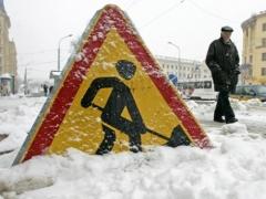 В Павлодаре коммунальщики пообещали летом убрать снег фото с сайта www.dailynews.kz