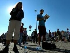 В Турции началась волна молчаливых протестов фото с сайта itar-tass.com