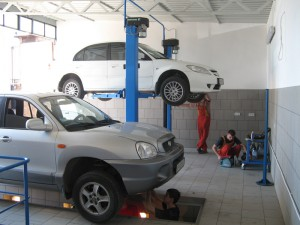 В Актобе слесарь СТО угнал и разбил автомобиль клиента Фото с сайта www.kpservis.by