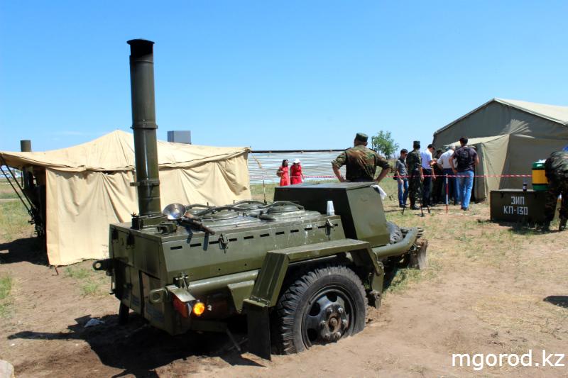 """""""Мой ГОРОД"""" побывал на военных учениях mgorod.kz 17"""