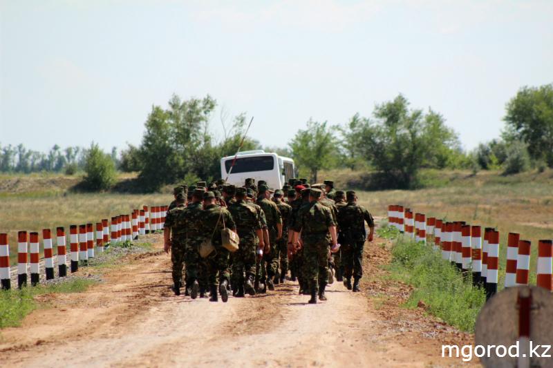 """""""Мой ГОРОД"""" побывал на военных учениях mgorod.kz 21"""