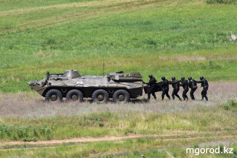 """""""Мой ГОРОД"""" побывал на военных учениях mgorod.kz 31"""