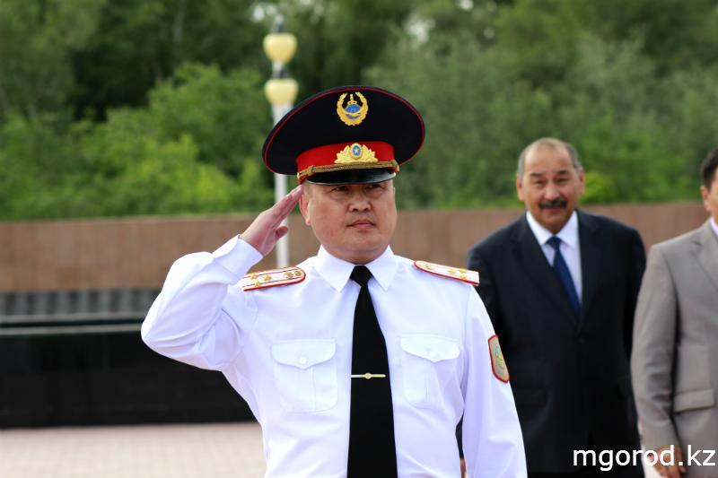 В Уральске прошёл парад полицейских mgorod.kz 4