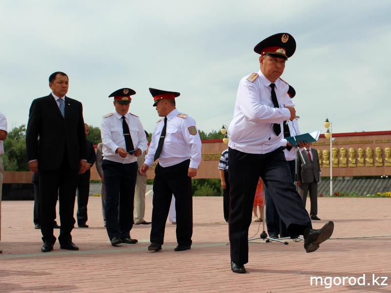 В Уральске прошёл парад полицейских mgorod.kz 6