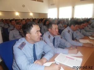 Аким ЗКО встретился с участковыми полицейскими SAMSUNG DIGITAL CAMERA