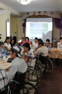 В Уральске женщинам-инвалидам разъясняют их права seminar