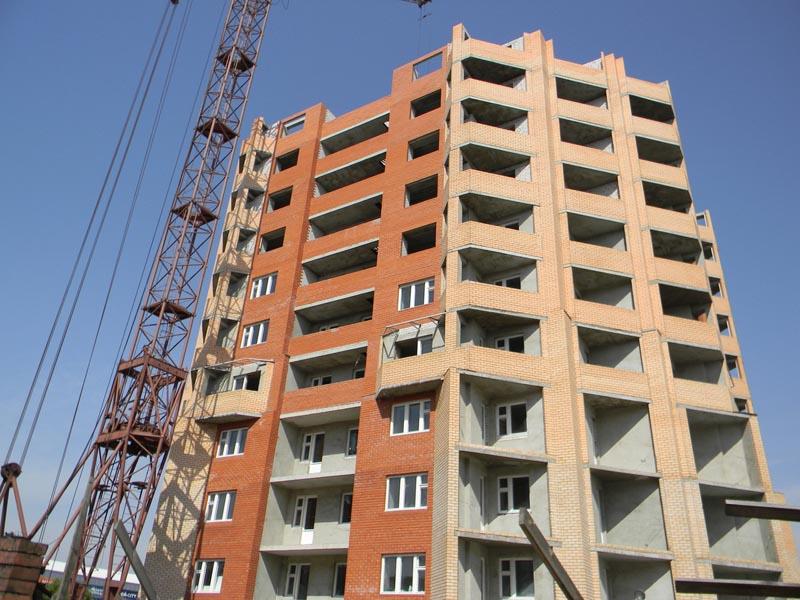 Когда достроят единственную в городе шестнадцатиэтажку?