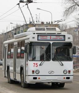 В Актобе общественный транспорт терпит убытки Фото с сайта  aktobe-trolleybus.narod.ru