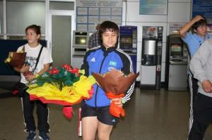Уральская спортсменка стала чемпионкой Азии по борьбе Екатерина ЛАРИОНОВА. Фото с сайта vk.com