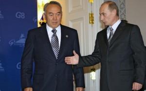 Новости - Путин прибыл в Казахстан лично поздравить Назарбаева с днём рождения Фото с сайта novayagazeta-ug.ru