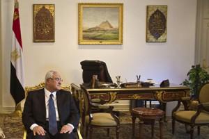 В Египте приведено к присяге новое правительство Адли Мансур Фото: Khaled Desouki / AFP