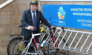 Новости - Казахстанское правительство пересаживается на велосипеды Фото с сайта total.kz
