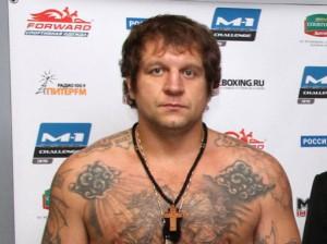 Александр Емельяненко вызвал на бой Владимира Кличко Фото с сайта www.sovsport.ru