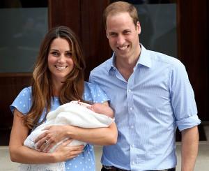Принц Уильям и Кейт Миддлтон показали своего новорожденного сына Фото dni.ru