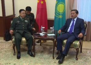 Премьер-Министр РК встретился с заместителем председателя Центрального военного совета Китая Фото 24.kz