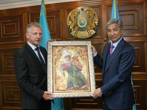Астана и Ницца установили побратимские отношения Фото с сайта astana.kz