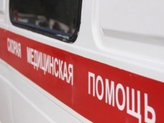 Новости Атырау - В Атырау сгорела карета скорой помощи фото с сайта yk-news.kz