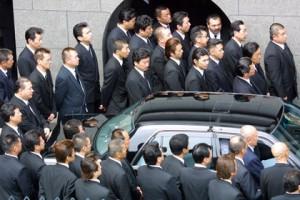 Новости - Крупнейшая группировка якудза запустила собственный журнал Члены «Ямагути-гуми». Фото: AFP