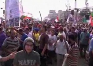 Новости - В центре Каира тысячи египтян требуют отставки президента Фото с сайта 24.kz