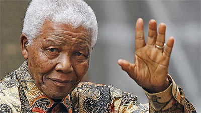 Мир отмечают 95-летие Нельсона Манделы Фото lifenews.ru