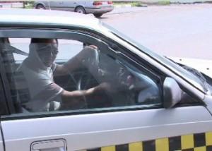 Петропавловский таксист придумал, как привлечь клиентов Фото 24.kz