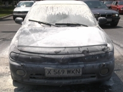 Алматинцы потушили автомобиль приезжего фото с сайта today.kz