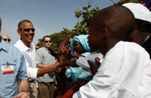 Новости - Обама пообещал обеспечить Африку электроэнергией Барак Обама во время африканского турне. Фото: Jason Reed / Reuters