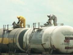 Вывоз из Алматинской области старого ракетного топлива обошелся в 600 тысяч евро фото с сайта www.mediaport.ua