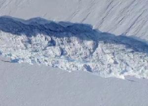 От Антарктиды откололся айсберг размером с мегаполис Фото 24.kz